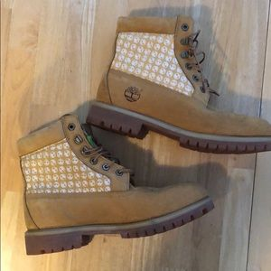 Gently used Timberland boots